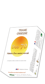 Duo équilibre osseux - Duo 70